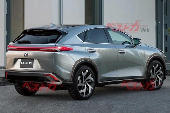 Lexus NX the he moi,  NX 2022,  Toyota RAV4,  Toyota Venza anh 2