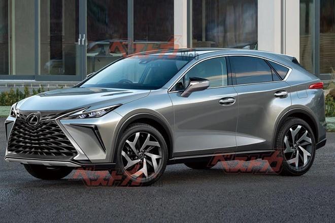 Lexus NX the he moi,  NX 2022,  Toyota RAV4,  Toyota Venza anh 1