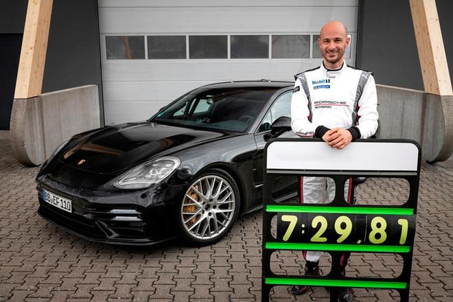 Porsche Panamera Turbo 2021 lap ky luc moi tai truong dua Nurburgring anh 5