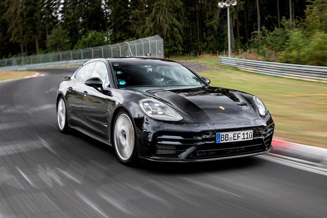 Porsche Panamera Turbo 2021 lap ky luc moi tai truong dua Nurburgring anh 1