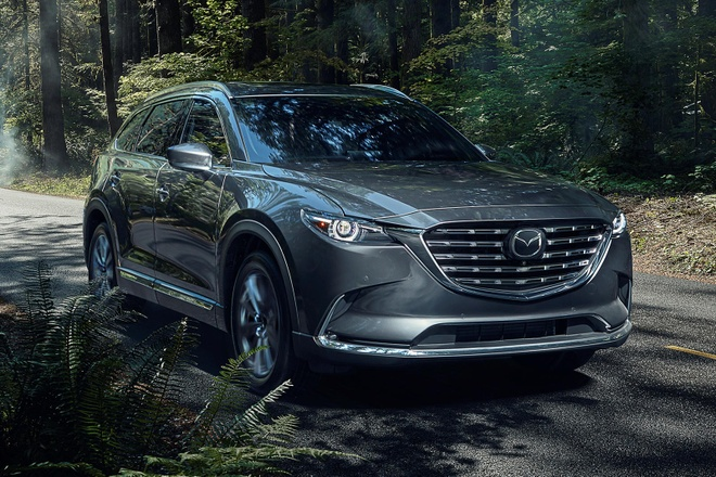 Mazda CX-9,  crossover,  Mazda Connect anh 1
