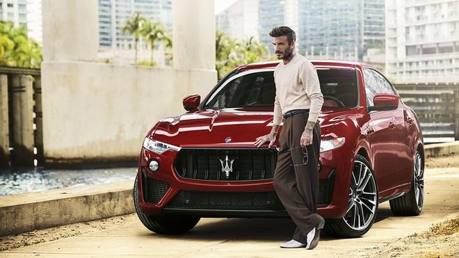 David Beckham trở thành đại sứ thương hiệu Maserati