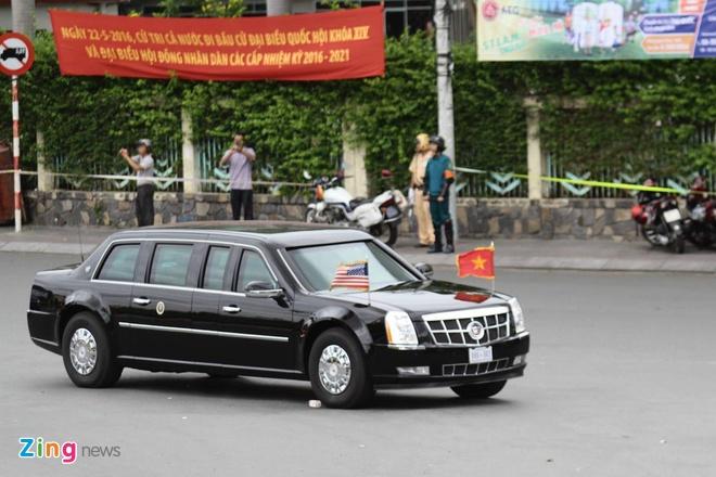 Tong thong Obama roi Sai Gon, ket thuc chuyen tham Viet Nam hinh anh 16