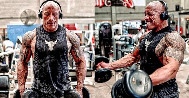 The Rock khoe anh luyen tap co bap cho vai sieu anh hung Black Adam hinh anh 1 The_Rock_Black_Adam_DC_Universe_Anti_Hero_Training.jpg