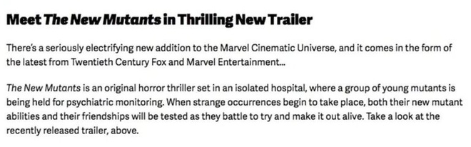 Disney nham lan phim di nhan thuoc Vu tru Dien anh Marvel hinh anh 1 new_mutants_mcu_goof_jpg_1578736354.jpg