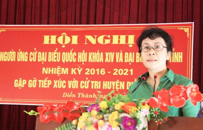 Ba Nguyen Van Chi tiep xuc cu tri anh 1