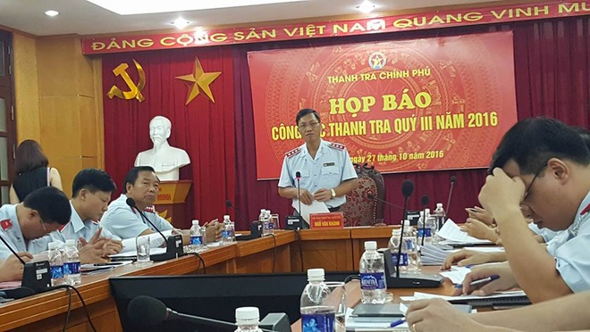 Co the thanh tra nhung vi pham tai Bo Cong Thuong hinh anh 1