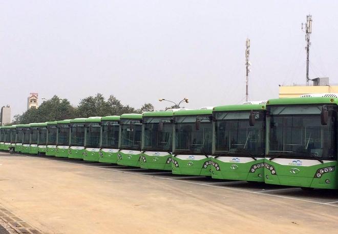 Gia ve du kien xe buyt nhanh BRT Ha Noi la 7.000 dong/luot hinh anh