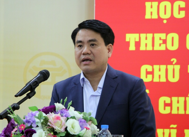 Chu tich Ha Noi: Mo duong day nong nhan phan anh ve cay xanh hinh anh