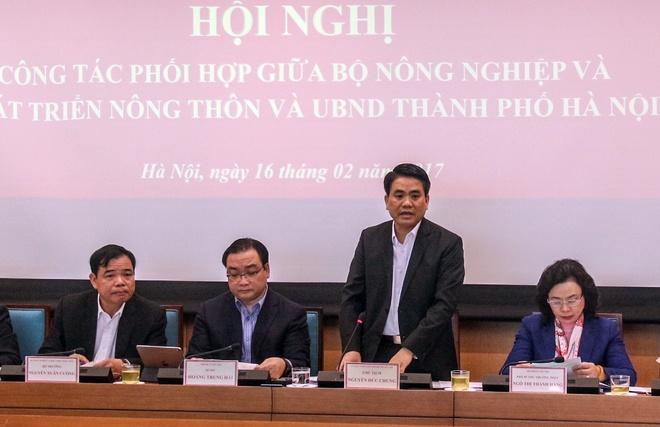 Ong Nguyen Duc Chung: Ha Noi khong de xuat ha de song Hong hinh anh 1