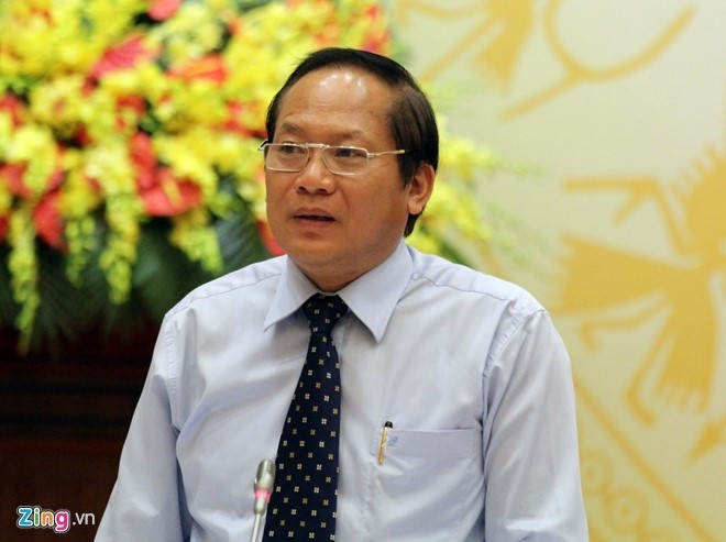 Bo Truong Truong Minh Tuan tra loi chat van anh 1