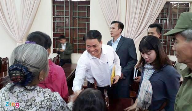 Chu tich Ha Noi tra loi tam thu dan Dong Tam anh 1