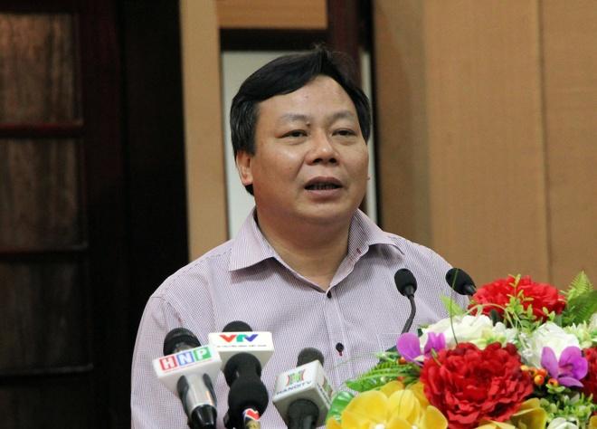 Thanh uy Ha Noi thong tin vu Dong Tan anh 1