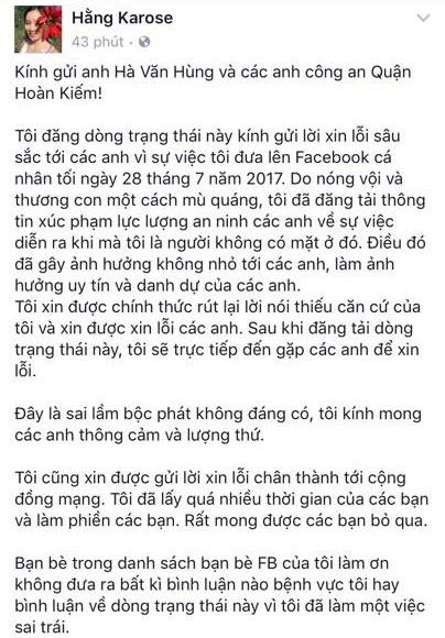 Me chau be choi dan bi cam o pho di bo gui loi xin loi tren Facebook hinh anh 1