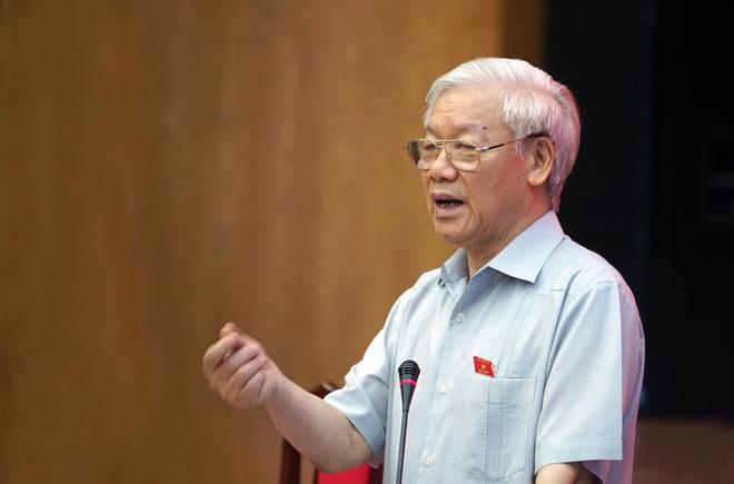 Tong bi thu: 'Long dan ung ho, phai lam tiep, khong dung lai' hinh anh