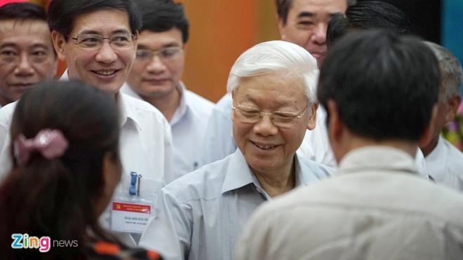 Tong bi thu: 'Long dan ung ho, phai lam tiep, khong dung lai' hinh anh 1