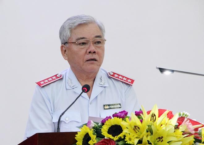 Tong Thanh tra Chinh phu xin thoi nhiem vu vi ly do ca nhan hinh anh