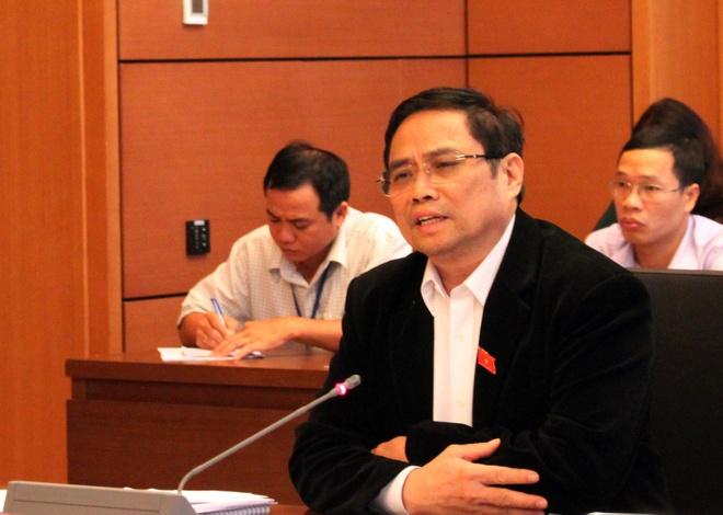 Ong Pham Minh Chinh: Tiet kiem chi tieu de lam san bay Long Thanh hinh anh