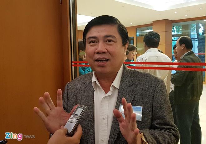 Chu tich TP.HCM: Can co che rieng chu khong xin 'mieng banh' to hon hinh anh 1