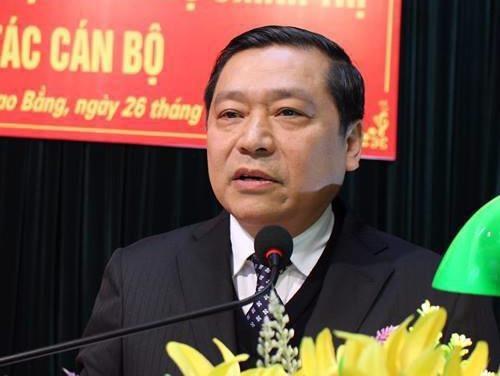 Ong Lai Xuan Mon lam Bi thu Tinh uy Cao Bang hinh anh
