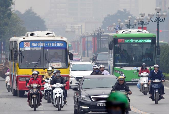 Buyt thuong khong duoc di vao lan buyt nhanh BRT hinh anh