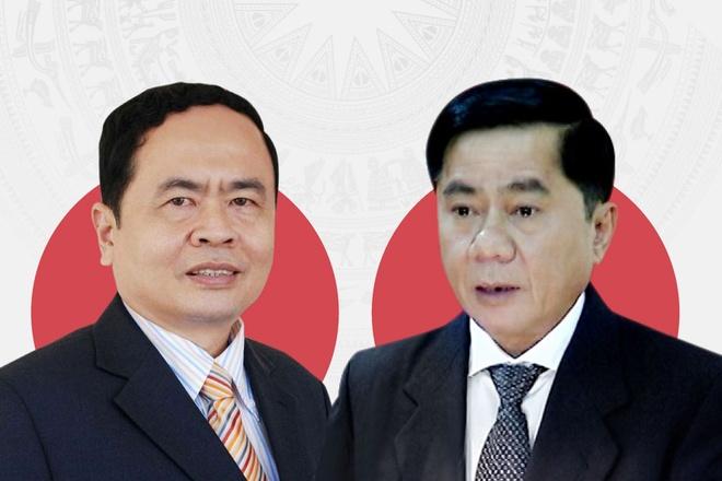 Ong Tran Thanh Man, Tran Cam Tu duoc bau vao Ban Bi thu hinh anh