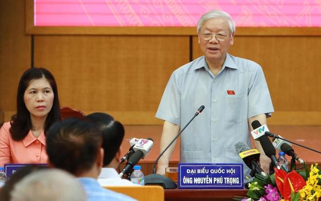 Tong bi thu: 'Lo nong ruc roi nhung con nhieu viec phai lam' hinh anh