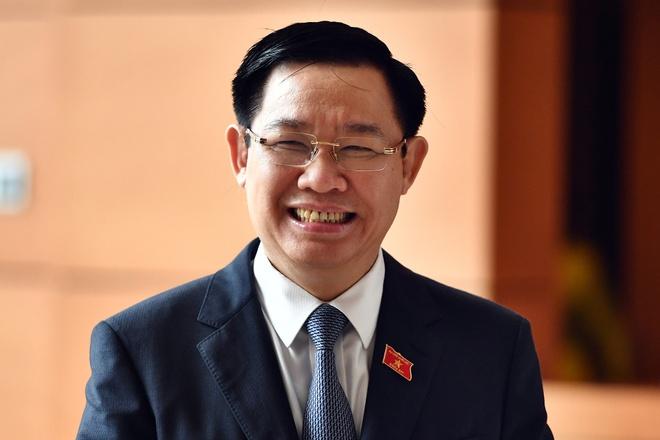 Pho thu tuong Vuong Dinh Hue va cac bo truong se tra loi chat van hinh anh