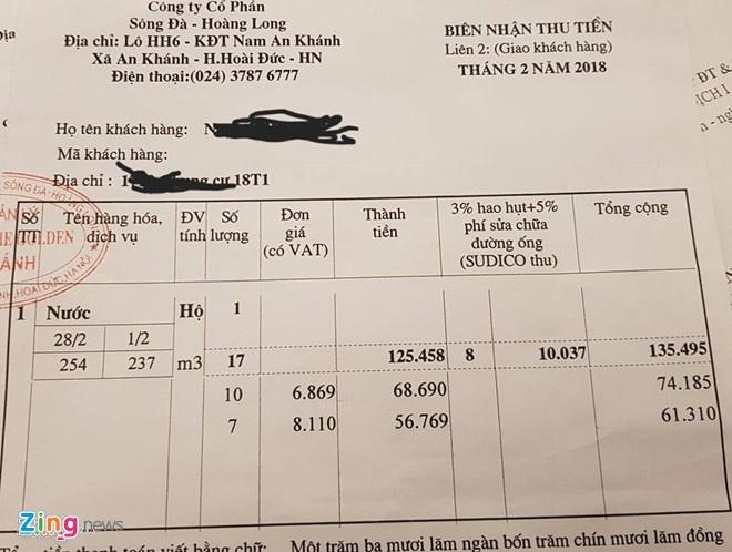 Ha Noi kiem tra viec dan chung cu 'cong' 8% phi nuoc cho doanh nghiep hinh anh 1