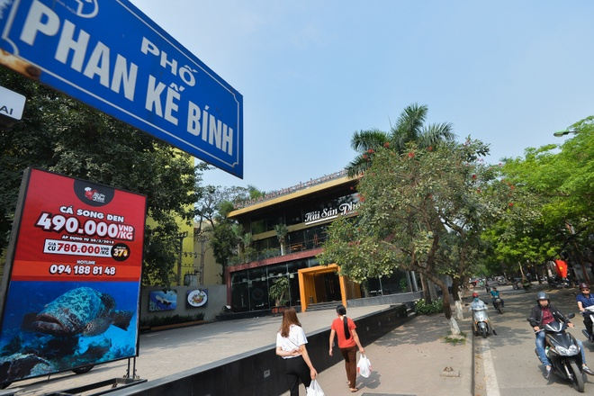 Ha Noi se cuong che cong trinh sai phep o du an cong Phan Ke Binh hinh anh