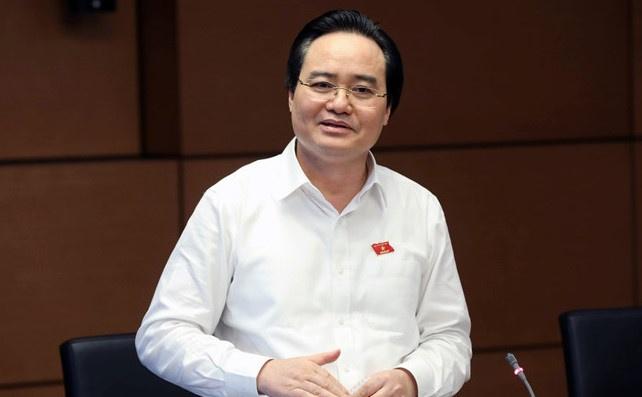 Bo truong Nha xin lui thong qua Luat Giao duc vao nam 2019 hinh anh
