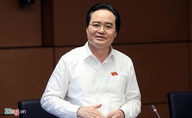 Bo truong Nha xin lui thong qua Luat Giao duc vao nam 2019 hinh anh 2