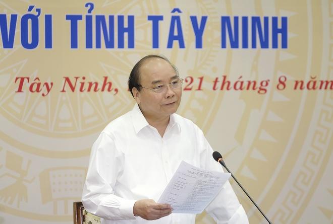 Thu tuong muon Tay Ninh la hinh mau lam giau bang nong nghiep hinh anh
