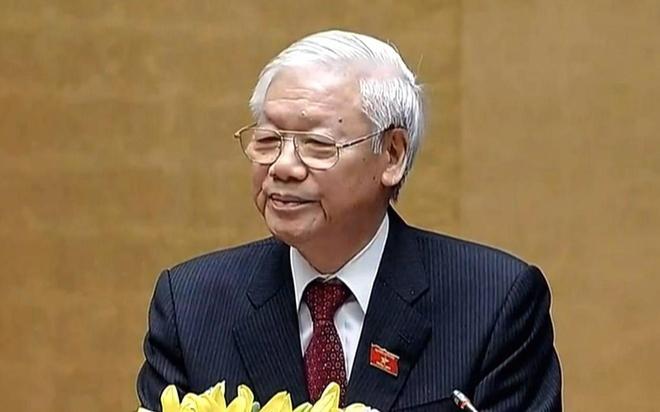 Chu tich nuoc Nguyen Phu Trong: 'CPTPP giup Viet Nam nang cao noi luc' hinh anh