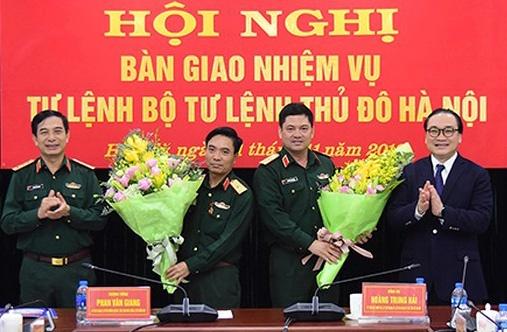 Thieu tuong Nguyen Hong Thai lam Tu lenh Bo Tu lenh Thu do hinh anh