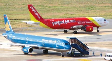 Vietjet vuot Vietnam Airlines, tro thanh hang hang khong lon nhat VN hinh anh