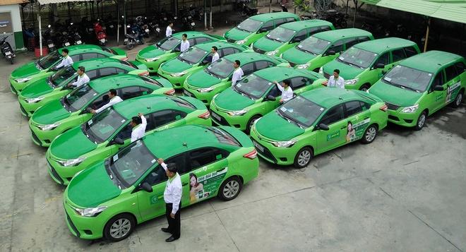 Mai Linh hop bat thuong ban chuyen chay xe om, xe lam, xe loi hinh anh