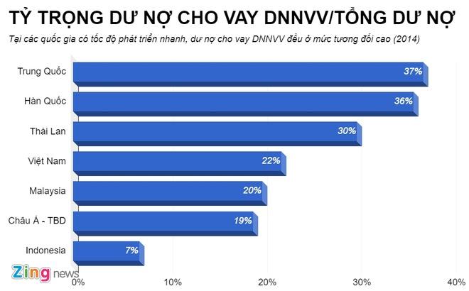 Doanh nghiep nho va vua dong gop 45% GDP nhung phai vay von lai cao hinh anh 3