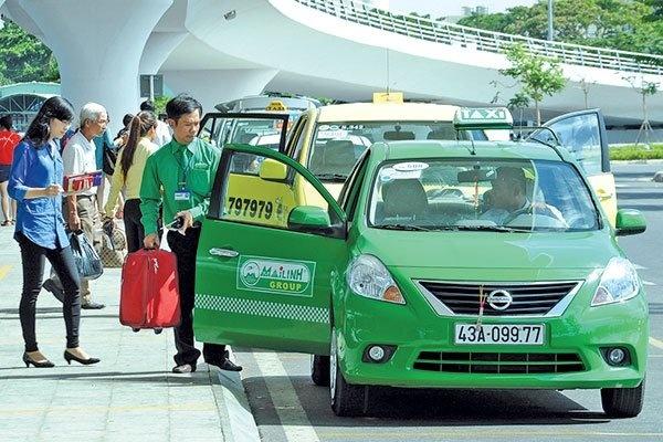 Taxi Mai Linh day manh ban xe cu de thoat lo hinh anh