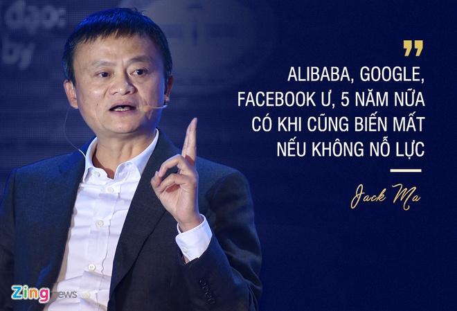 Jack Ma: Alibaba, Google, Facebook 5 nam nua co khi cung bien mat hinh anh