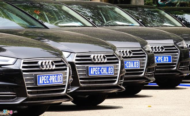 Hai quan noi gi ve nghi van thanh ly xe Audi mang danh xe APEC? hinh anh