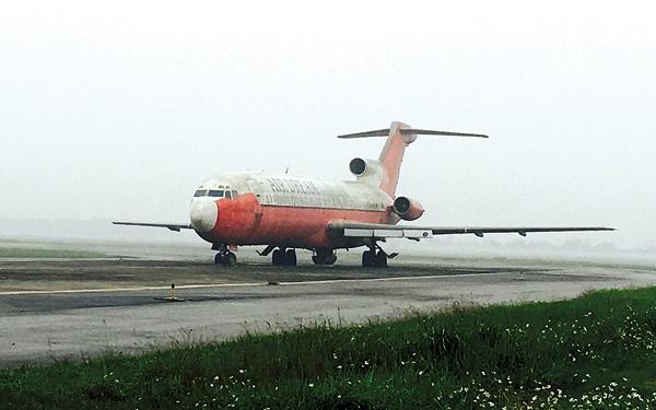 Xin may bay Boeing 727-200 bi bo quen o Noi Bai lam... giao cu hinh anh