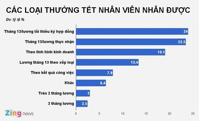 Nguoi lao dong Viet Nam chua nhan duoc thuong Tet nhu mong muon hinh anh 2