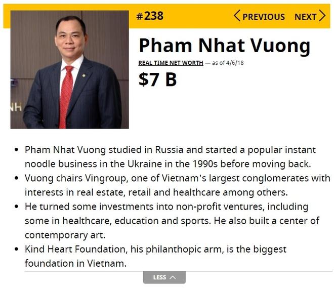 Moi ngay ty phu Pham Nhat Vuong 'kiem them' gan tram trieu USD hinh anh 1