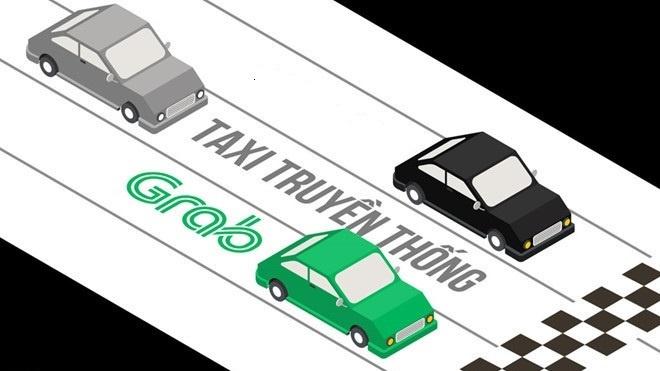 Khong canh tranh noi Grab, them doanh nghiep Viet rut khoi nganh taxi hinh anh