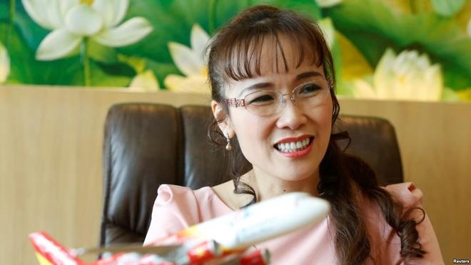 Ong Vuong vao top 200, ba Thao rot nhom 1.000 nguoi giau nhat the gioi hinh anh