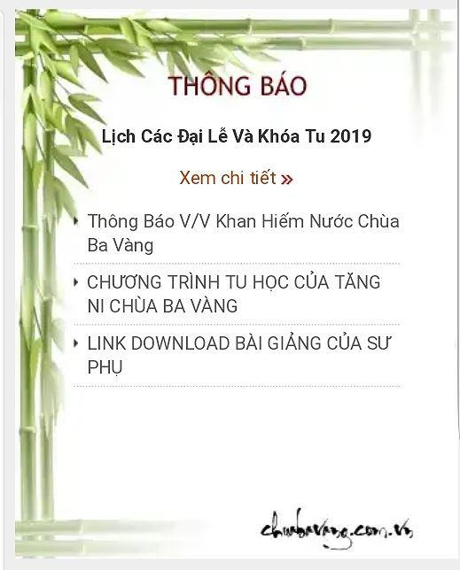 Hang tram bai viet va so tai khoan ngan hang chua Ba Vang bien mat hinh anh 1