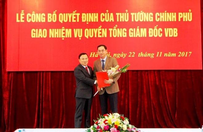 Thủ tướng bổ nhiệm Tổng giám đốc Ngân hàng Phát triển Việt Nam