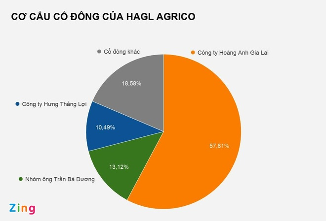 Ông Trần Bá Dương đã nắm hơn 13% vốn tại HAGL Agrico - Ảnh 2
