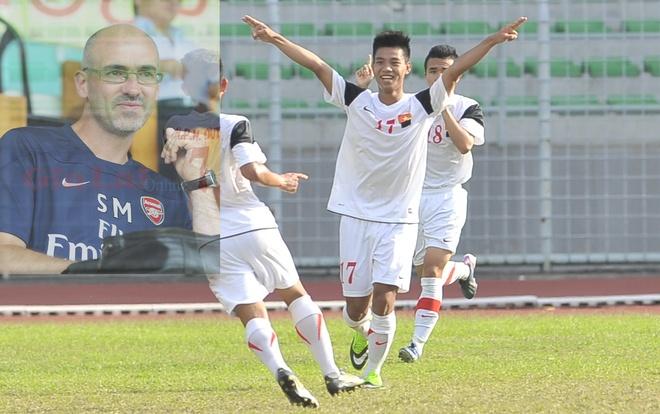CLB Arsenal gui dien chuc mung U19 Viet Nam hinh anh
